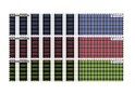 PC Check Engineering Border Shirting Fabric