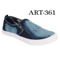 Sporter Men/Boys Blue-361 Denim Loafers & Moccasins Shoes