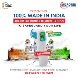 Microtek Non Contact InfraRed Thermometer