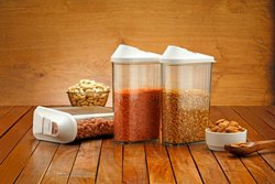 Kitchies White Airtight Food Containers, For Home, Packaging Type: Box