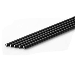 Mild Steel Black Round Bars, Dimensions: 6-120 mm