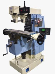 TURBO Cast Iron DRO MILLING MACHINE, Model Number: Mac2