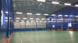 Badminton Shuttle Court Shed