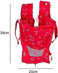 Carrier Bag Adjustable Hands-Free Red, 6 In 1