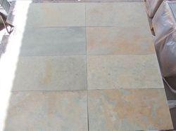 Brown Multicolour Natural Limestone, Thickness: 25-35 Mm
