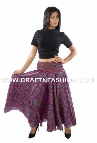 62389d27f0 Trouser Skirts - Women's Belly Dance Skirt Pant-Aladdin Style Trouser- Umbrella Flared Palazzo Wholesaler from Ahmedabad