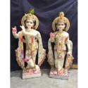 Marble Floor Standing God Krishna Statue
