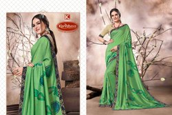 Printed Vichitra Saree - Jolly-02