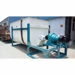 Mild Steel 8000 Kg Ribbon Blender, for Industrial