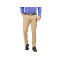 Mens Brown Cotton Trousers