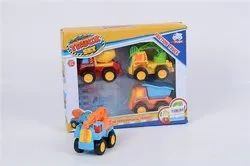 Multicolor China Truck Friction Toy for School