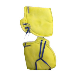 Yellow Non Woven ISI Dust Mask, For Pharma Industry, Free Size