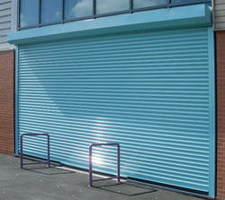 Steel Powder Coated Rolling Shutters