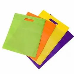 D-Cut Non-Woven Carry Bag With Different Colour And Size