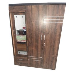 Brown Antique Wooden Almirah, For Home