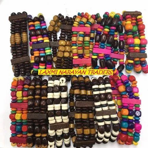 Lnt Wooden Bracelets Rs 6 Piece M S