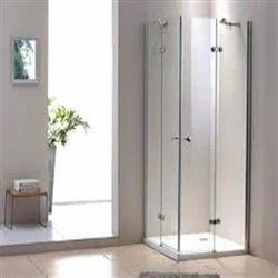 Frame Less Corner Type Shower Enclosure