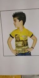 Round Neck Printed Boys T Shirt