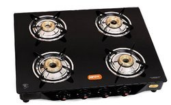 Callisto Gas Stove Glass Top 4 Burners Gas Stove-Manual
