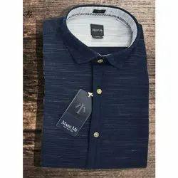 Full Sleeves Men Readymade Casual Shirts