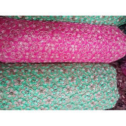 Net Embroidery Fabric, Use: Garment