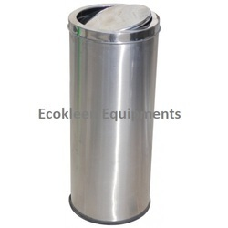 Stainless Steel Swing Dustbins