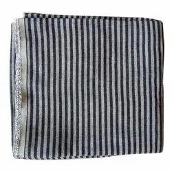 Lining Bag Fabric, Check & stripes, Black