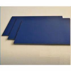 Classic Blue Metallic Aluminum Composite Panel