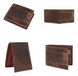 Genuine Leather Wallet For Mens