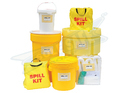 Chemical Spill Kit, Bag, Container Size: 5 To 1000 Litres