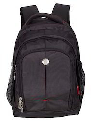 Black Renault Laptop Backpack Bag