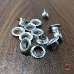 No. 700 Aluminium Male & Female (Eyelets & Washers) Polished, Shape: Round