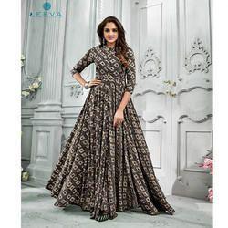 5156 Leeva Printed Rayon Cotton Kurti