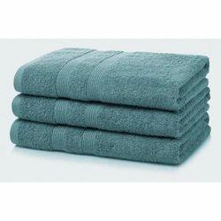 Cotton Non-Printed Plain Dyed Bath Towel