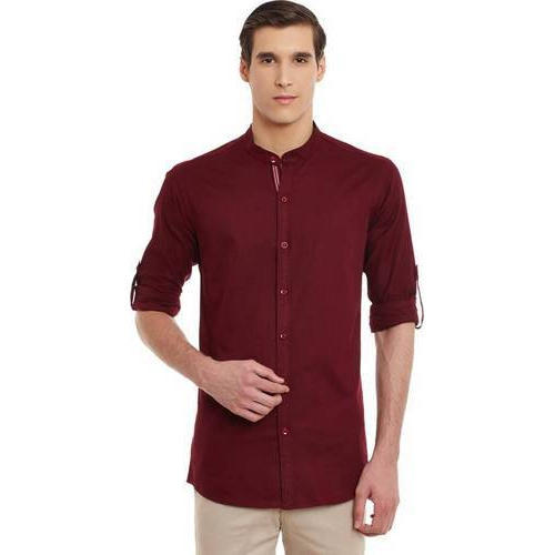 91bbc1a708a Mandarin Collar Shirt at Rs 450  piece