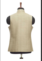 WC00032-304 Traditional Jute Waistcoat