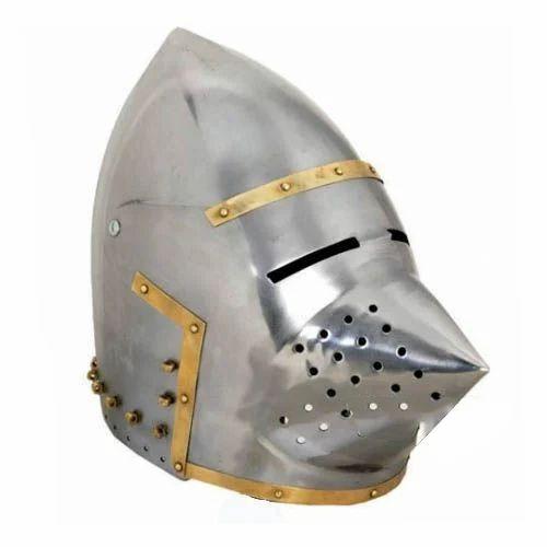 Roman Bascinet Klappvisor Helmet
