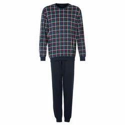 Black Mens Pyjama Set