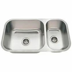 SS Two Bowl Kitchen Sink