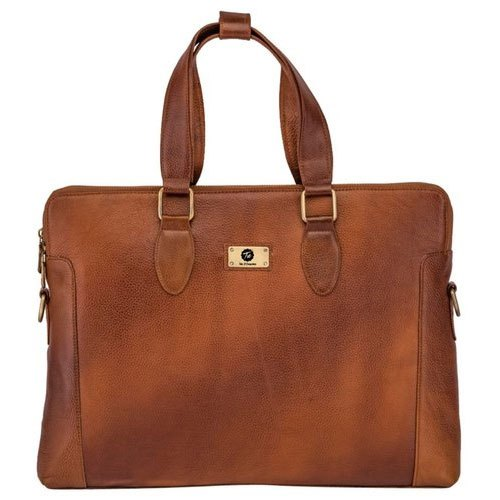 Tie Brown Office Leather Bags