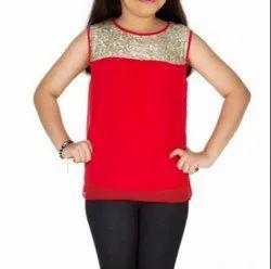 Casual Wear Kids Top, Size: S M L XL