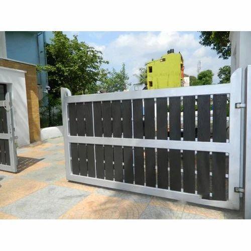 Modern Cast Iron Main Gate