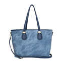 Rexine Blue Ladies Blue Shoulder Bag