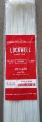 Lockwell White Cable Tie 500 x 4.8