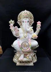 Ganesh Marble Statue