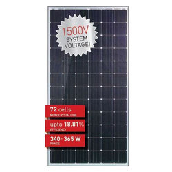 Solar Mono Crystalline PV Module, Voltage: 1500 V