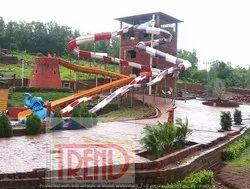 FRP 3 Water Slide