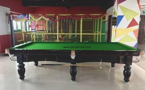 BRAZILIAN OAK Snooker Table 10 ft & BRAZILIAN OAK Snooker Table 10 Ft Rs 119999 /set BILL N SNOOK   ID ...