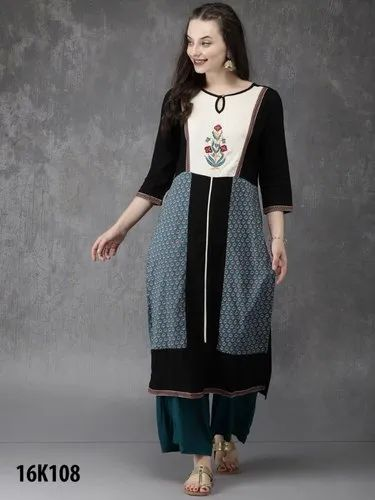 Girl Stitched Designer Party Kurti Size Xl 42 Xxl 44 Rs 799 Piece Id 21324216191