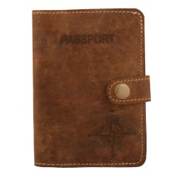 Personalized Custom Passport Cover Case Wallet Travel  Leather Passport Holder